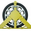 Wheel clamp — Stock Photo #9228469