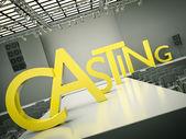 Casting — Stock Photo