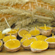 Beeswax candles — Stockfoto #9018738