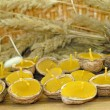 Beeswax candles — Stock Photo #9018738