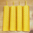 Beeswax candles — 图库照片