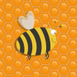 Honey bee — Foto de Stock