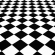 Chequered floor - Stockfoto