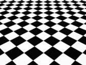 Geblokte vloer — Stockfoto