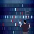 Choosing DNA - Stockfoto
