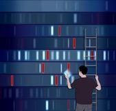 Choosing DNA — Stock Photo