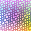 Retro disco squares - Stockfoto