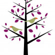 Bird Tree — Stock Photo