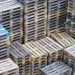 Pallet stacks — Stock Photo