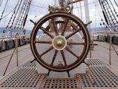 Ships wheel — Stock fotografie