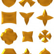 Bronze components — Foto Stock