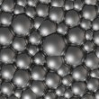 Royalty-Free Stock Photo: Chrome bubbles