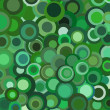 Funky retro green — Stock Photo