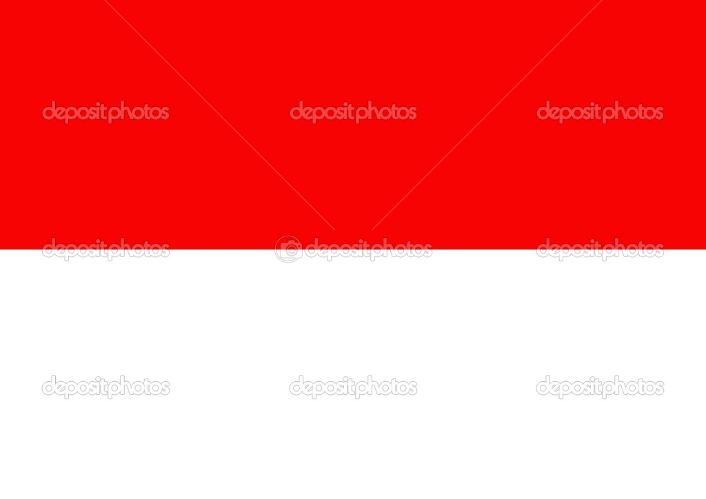 Illustrated flag of Indonesia — Stock Photo #9534344