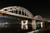 Railway Bridge, Kiev, Ukraine — Stock Photo