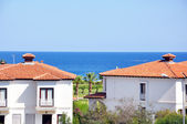 Mediterranean seaside view — Stock Photo