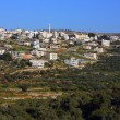Husan Palestinian town in Bethlehem Governorate - Stock Photo