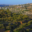 Wadi el-Jundi with view of jerusalem - Stock Photo