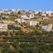 Husan Palestinian town on west bank - Stock Photo