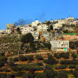 Palestine village on West Bank - Stock Photo