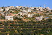 Husan Palestinian town on west bank — Stock Photo