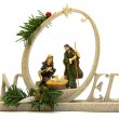 Noel Christmas Decoration — Stock Photo