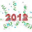 Happy new year 2012 — Photo