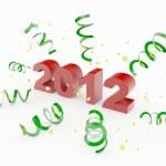 Happy new year 2012 — Stock Photo