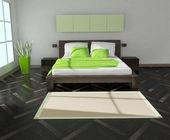 Slaapkamer interieur — Stockfoto