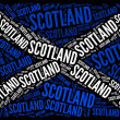 Scotland national flag — Stock Photo