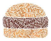 бургер — Стоковое фото