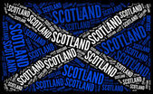 Scotland national flag — Foto de Stock