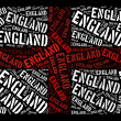 England national flag — Foto Stock