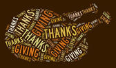Pavo de acción de gracias — Foto de Stock