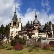 View of Peles Castle, SinaiRomania — Stock Photo #10033440