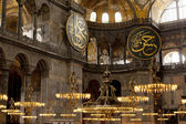 The Hagia Sophia (also called Hagia Sofia or Ayasofya), Istanbul — Stock Photo