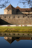 The Fagaras Fortress in Brasov County, Romania — Stock Photo