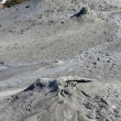 Muddy Volcanoes close-up, Romania Buzau — Stock Photo