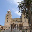 Cathedral of Cefalu - Stock Photo