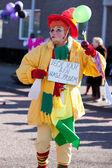 Clown on carnival — ストック写真