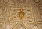 Golden S. Pietro Basilica ceiling — Stock Photo