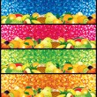 Multifruit Banners — Stock Vector #10578464
