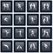 Olympiad Sport Icons 1 - Stock Vector