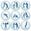 Olympic Sport Icons Set 2 — Stock Vector