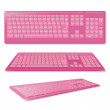 Stock Vector: Sexy Pink Keyboard