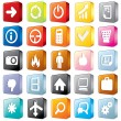 Royalty-Free Stock Vector Image: 3D Interface Icons 2