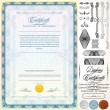 Royalty-Free Stock Vectorielle: Certificate Template