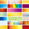 Horizontal Banners — Vector de stock #10579814