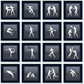 Olympiad Sport Icons 1 — Stock Vector