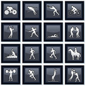 Olympiad Sport Icons 2 — Stock Vector